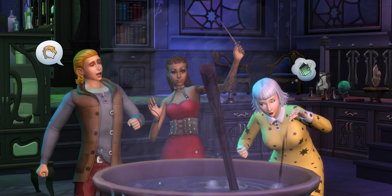 Resultado de imagem para the sims 4 reino da magia